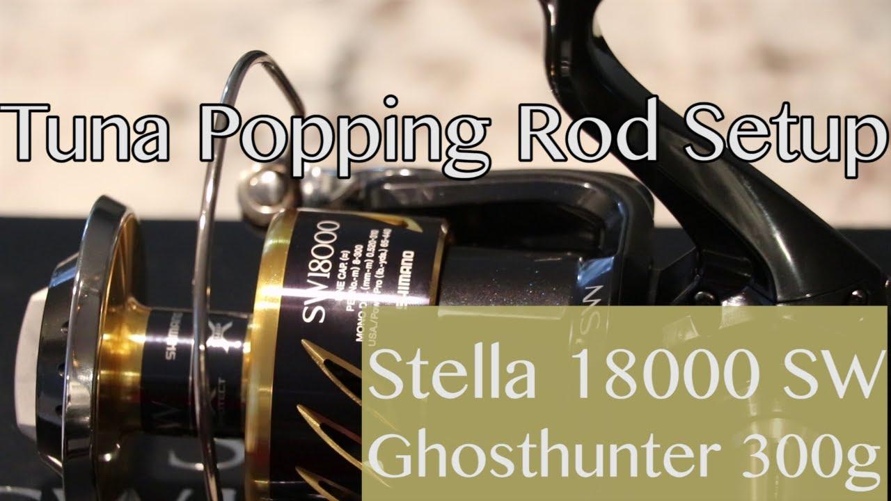 Tuna Popping Rod Setup