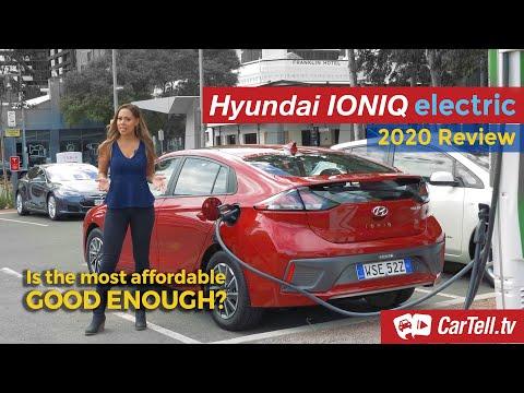 2020 Hyundai Ioniq Electric Review | Australia
