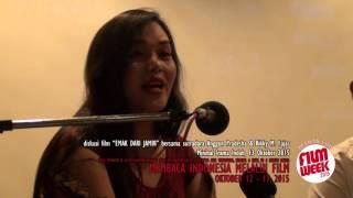 """Minikino Film Week 2015: """"Emak Dari Jambi"""", QnA w/ Anggun dan Rikky"""