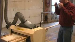 Woodmaster Planer/molder With Gary Striegler (part 4)
