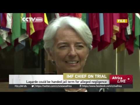 IMF boss Lagarde faces jail for alleged negligence