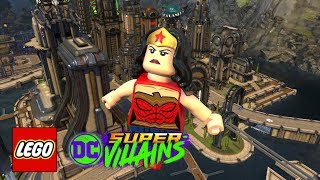 LEGO DC Super-Villains: HUB World - Smallville, Hall of Doom & Justice League Watchtower Confirmed!