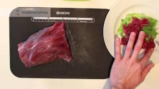 Carpaccio od junećeg filea (bifteka)