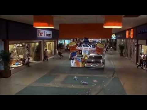Mall Chase Scenes The Blues Brothers vs Family Guy Reannactment