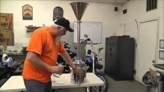 Ethanol, Moonshine filter system.