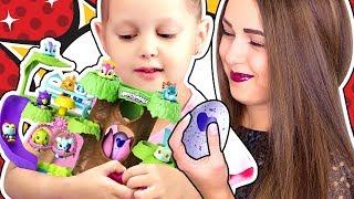 ХЕТЧИМАЛС Дерево Питомник для зверушек из Яиц Хетчималс Hatchimals Nursery Playset Видео для детей