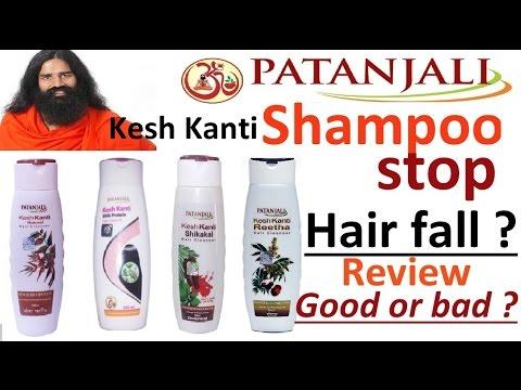 Patanjali Kesh Kanti Shampoo Stop Hair Fall Review Benefits Side Effects Baba Ramdev