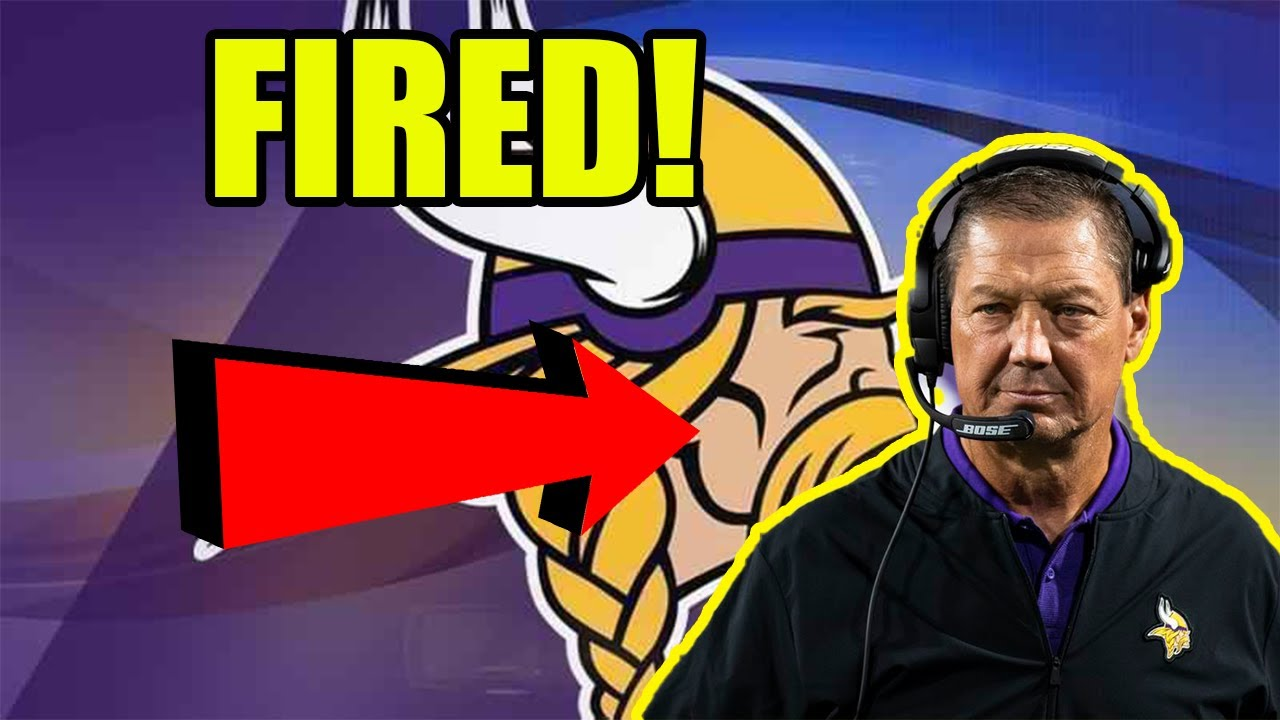 """Vikings Coach Rick Dennison Hasn't Been Fired Yet, """"Discussions ..."""