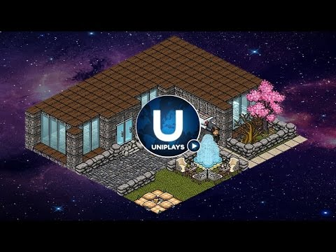 Habbo Retro  How To Build A Log House  Exterior  YouTube