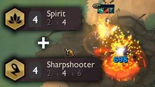 3 STAR JINX   4 Sharpshooter + 4 SPIRIT    TFT SET 4 Gameplay [Deutsch]