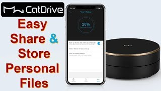 CatDrive: Wireless Smart Hard Drive to Store all your Personal Files on Cloud Storage Device