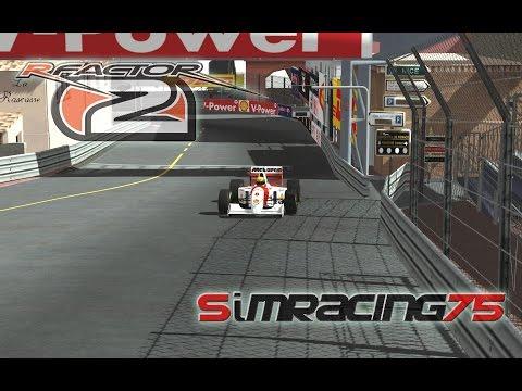 rF2 ASR McLaren MP4/8 @ Monaco