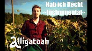 Alligatoah   Hab ich recht   Instrumental