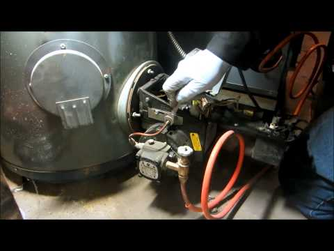 oil furnace and oil water heater annual service
