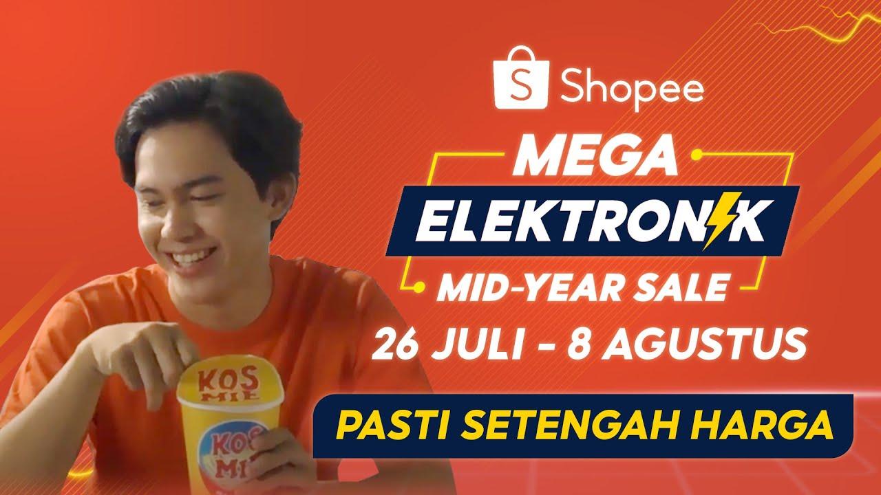 Mega Elektronik Mid Year Sale 26 Jul - 8 Ags | Barang Elektronik Pasti Setengah Harga!