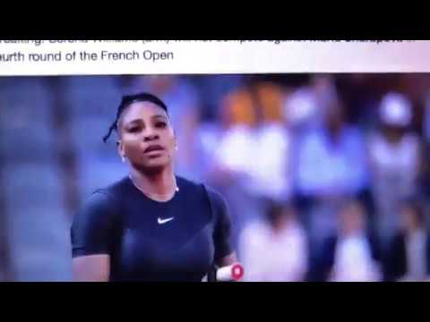 Serena Williams Withdraws From French Open Match With María Sharapova Due To Arm Injury