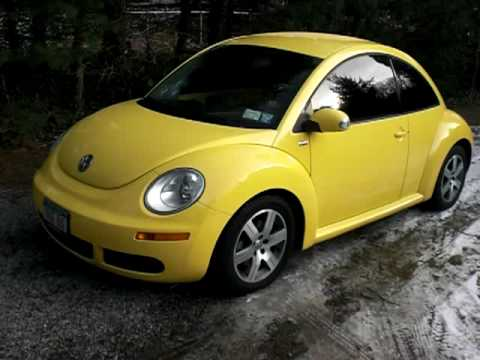2006 vw new beetle tdi youtube. Black Bedroom Furniture Sets. Home Design Ideas
