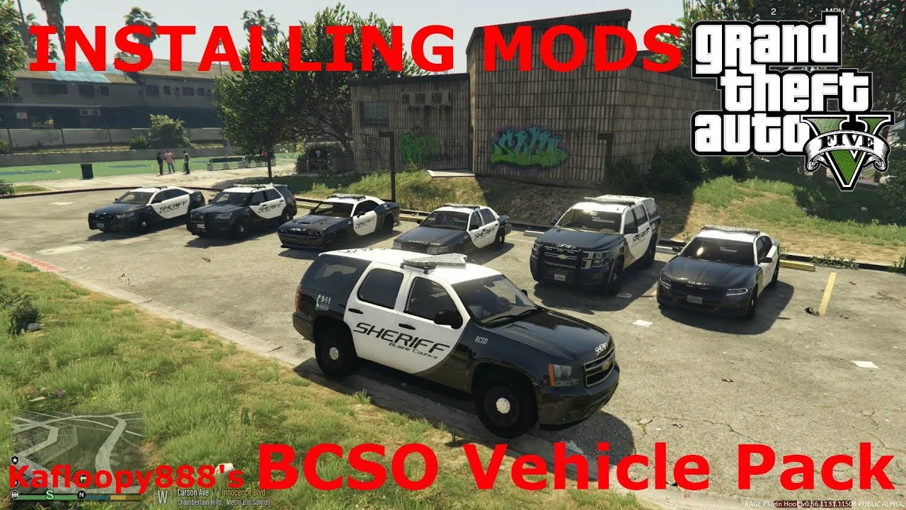 How To Install Kafloopy888's BCSO Vehicle Pack (GTAV LSPDFR)