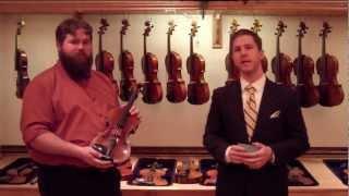 Violin Comparison Video with Interview
