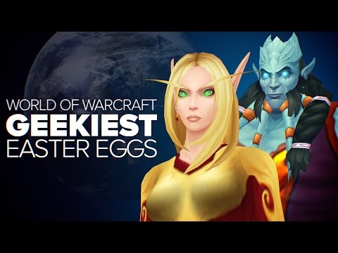World of Warcraft - Geeky Easter Eggs