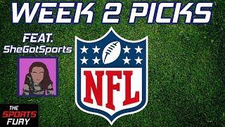 NFL Week 2 Picks feat. SheGotSports