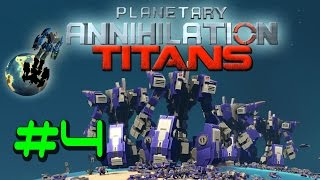 Planetary Annihilation TITANS Galactic War [60FPS] Part 4: Solar System Exploration