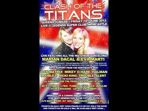 Dj Static & Assault Mc Ace B2B Turbo D @ Clash Of The Titans Queens Jubilee 01.06.2012
