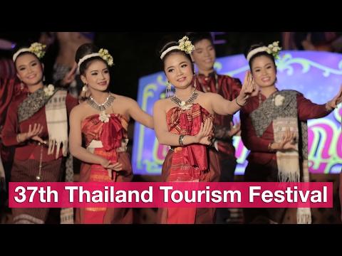 Thailand Tourism Festival 2017 in Lumpini Bangkok