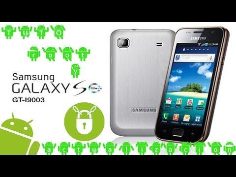 Actualizar y rootear Samsung GALAXY S (SLC GT-I9003)