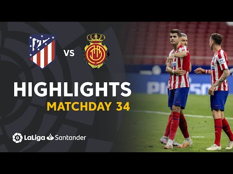 Atletico Madrid Mallorca Goals And Highlights