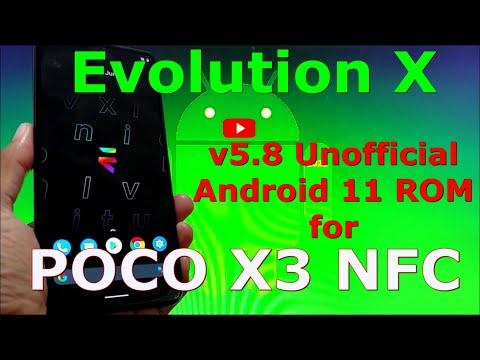 EvolutionX v5.8 Unofficial for Poco X3 NFC (Surya)