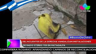 Grupos delincuenciales de la derecha golpista incendian oficinas de Blu Nicaragua