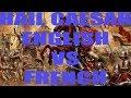 Hail Caesar Battle Report French VS English