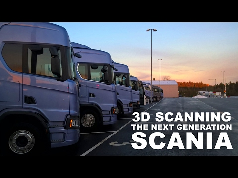 3D Scanning - The Next Generation Scania