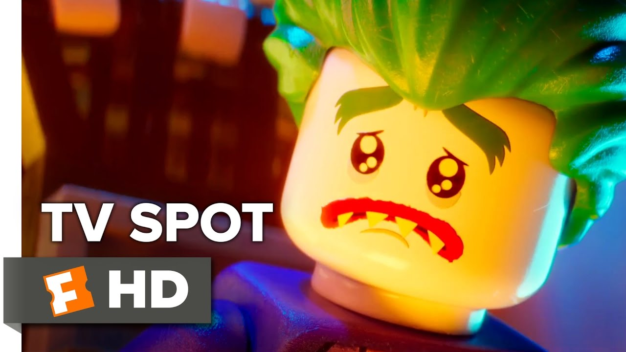 The Lego Batman Movie Extended Tv Spot Joker 2017 Will Arnett Movie Youtube