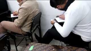 تقرير عن الغش / الجامعة العراقية 2014