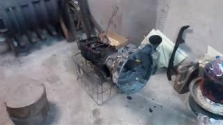 Двигатель москвич на луаз (колокол)