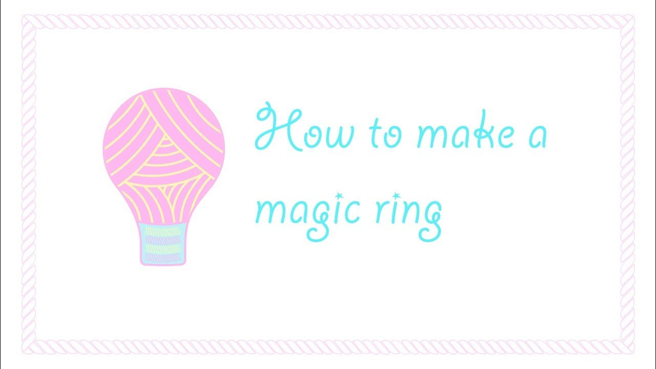 Crochet magic ring tutorial how to start crocheting in the round crochet magic ring tutorial how to start crocheting in the round left handed baditri Images