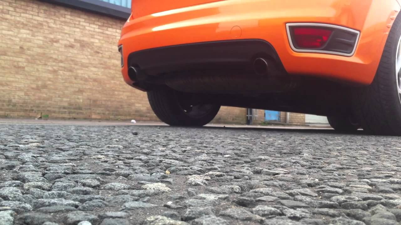 how to make exhaust pop
