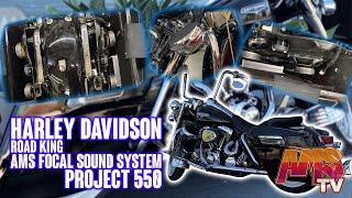 Harley Davidson Road King AMS Focal Sound System - Project 550
