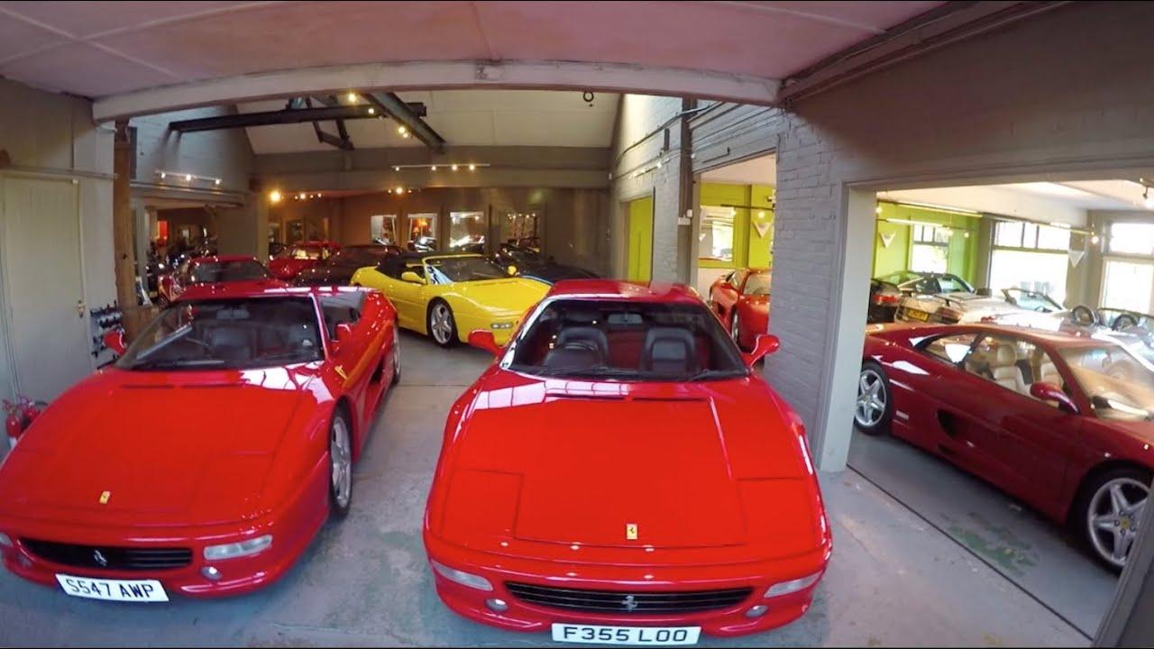 Join me for a trip to my local supercar garage ferrari for Garage ferrari charnecles