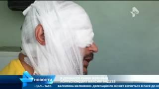 Военный корреспондент Максим Фадеев получил ранение в результате обстрела ВСУ в Донбассе