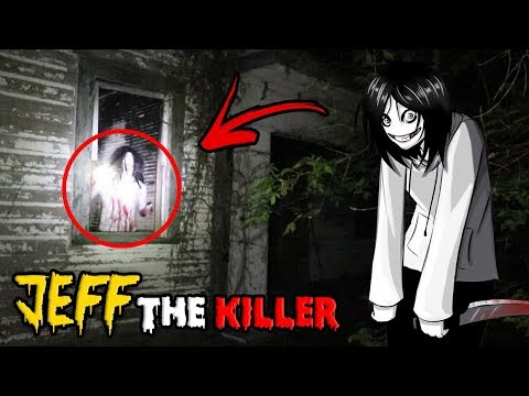 JEFF THE KILLER CAME TO THE HAUNTED HOUSE AFTER US!! *SCARY*