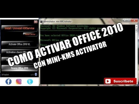 Activar Office 2010 Con Mini-kms Activator 1.2 33