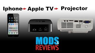 Hooking up the Iphone to RCA Projector with Apple TV using Airplay