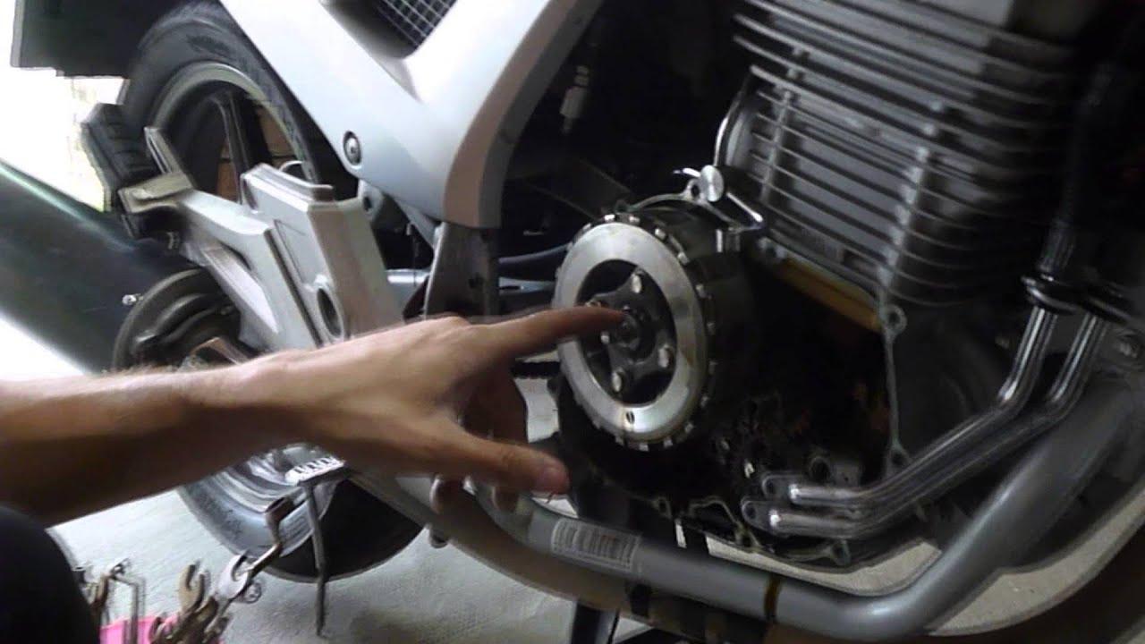 Embrague Honda Cbf 250 Youtube