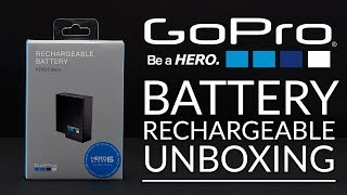 GoPro Hero 7 | Rechargeable Battery Unboxing