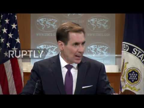 USA: 'You've failed repeatedly' – reporter grills State Dept. spokesperson on Syria