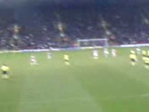 17/01/09 - Watford 0-2 Sheffield United  - Webber goal and celebrations