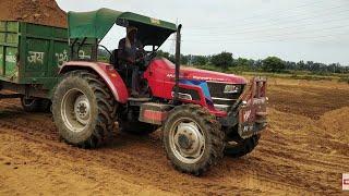 mhindra Arjun 605 tractor 4x4 ट्रैक्टर का फरक देखो कैसी पावर लगाई